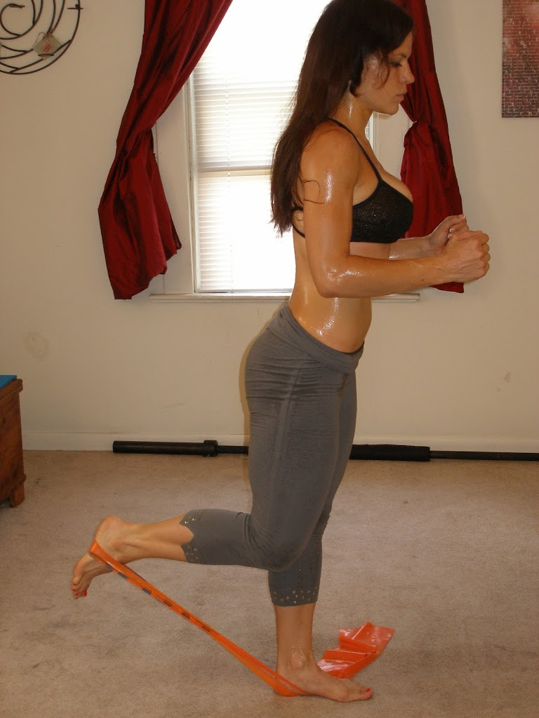 Standing Workout Thighs Hamstrings And Glutes Real Time