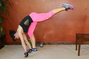 Elevated Runner's Lunge Lift: Part 2