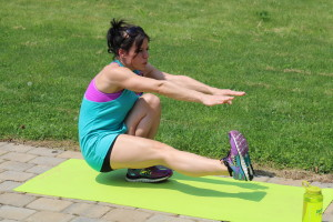 Pistol Squat:  Start in a standing position with one leg extended in front of your body. Press the hips backward and lower yourself as much as you are able. Press through the heel to return to standing. Complete all Reps on each leg.  Modification: Start sitting in a chair. With one leg extended in front of you press through your heel to stand. Keep the leg extended and slowly lower yourself to return to a seated position. Try not to use your hands.