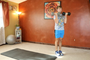 Lunge Curl & Press: Part 4
