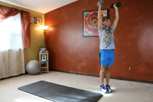 Lunge Curl & Press: Part 5