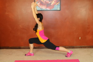 Runner's Lunge Reach: Part 2