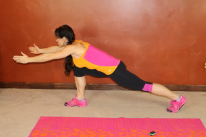 Runner's Lunge Reach: Part 3