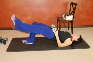 Single Leg Glute Bridge: Part 2