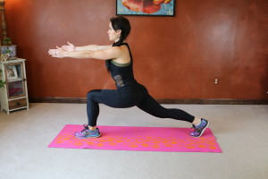 Runner's Lunge Twist: Part 1