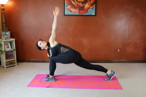 Runner's Lunge Twist: Part 2