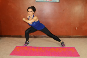 Side Lunge Punch: Part 1