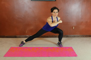 Side Lunge Punch: Part 2