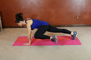 Leg Sweep Plank: Part 1