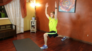 Runner's Lunge Lift: Part 1