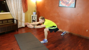 Runner's Lunge Lift: Part 2