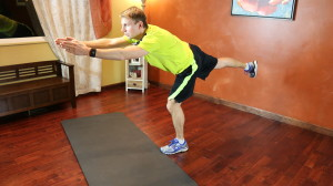 Runner's Lunge Lift: Part 3