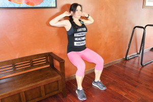 Wall Sit Pelvic Tilt: Part 1