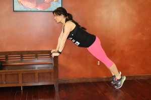 Chatarunga Pushup: Modified: Part 1 *Regular Variation performed from Plank on the Ground