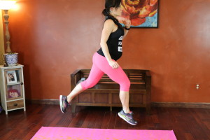 Static Lunge Hop: Part 2