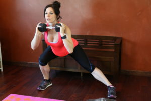 Wide Leg Side Lunge: Part 2