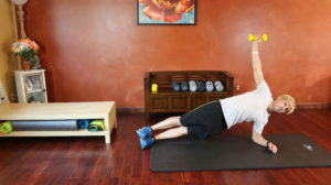Side Plank with Weight: Part 1