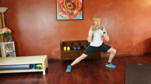 Side Lunge Wood Chopper: Part 2