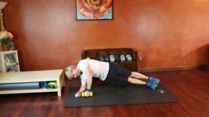 Side Plank with Weight: Part 2