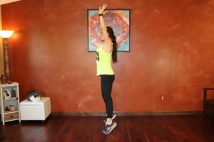 Burpee: Part 3 Modification: Squeeze on Tip Toes
